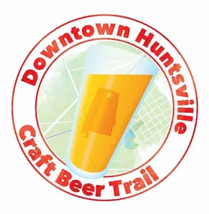 Photo of the Downtown Huntsville Craft Beer Trail