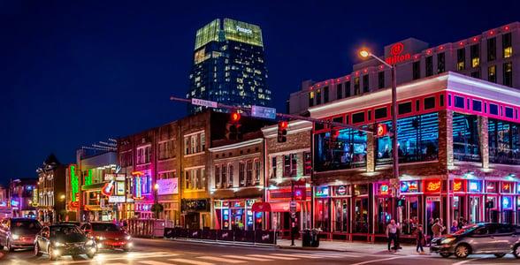 Photo of Broadway Street in Nashville