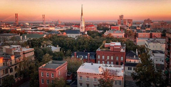 Photo of Savannah's skyline