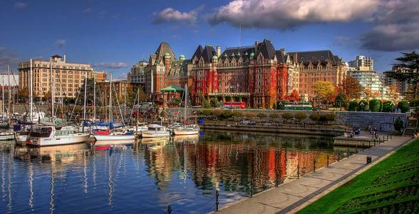 Photo of Victoria's harbor