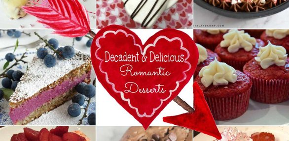 Screenshot of The How-To Home Valentine's Day dessert section