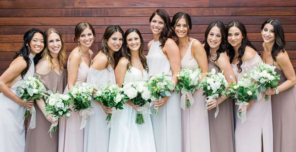 Photo of a Best Face Forward bridal party