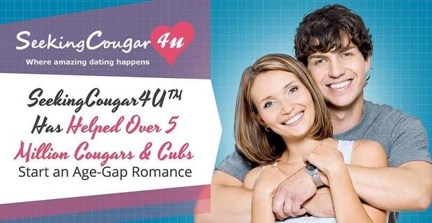 SeekingCougar4U™ Has Helped Over 5 Million Cougars & Cubs Start Age-Gap Romances