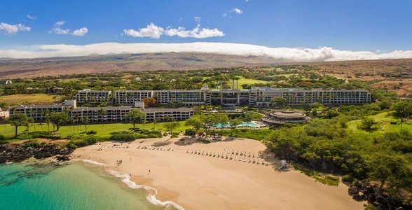 Aerial view of The Westin Hapuna Beach Resort
