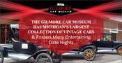 The Gilmore Car Museum Has Michigan's Largest Collection of Vintage Cars & Fosters Many Entertaining Date Nights
