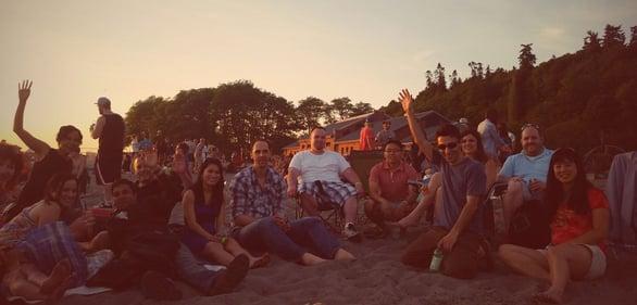 Photo of The Fun Singles beach event
