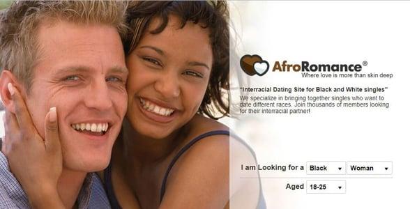 Screenshot of AfroRomance