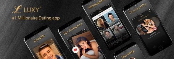 Screenshots of Luxy