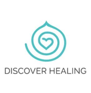 The Discover Healing logo
