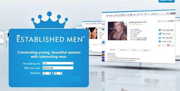 Screenshot of Established Men