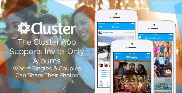 Cluster Invite Only Photo Albums For Singles And Couples
