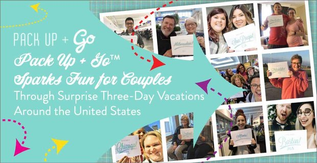 Pack Up And Go Plans Surprise Trips For Couples