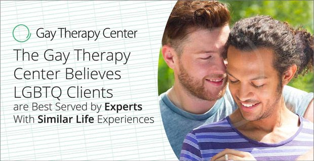 Gay Therapy Center Connects Clients With The Right Experts