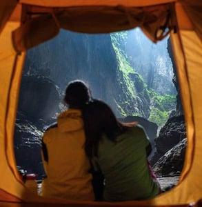 Photo of an Oxalis Adventure campsite