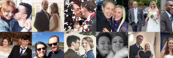 Photos of Christian Connection couples