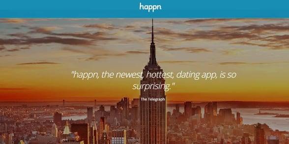 Screenshot of Happn