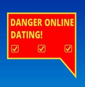 Photo of online dating danger