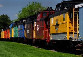 Photo of The Red Caboose train cars