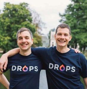 Photo of Daniel Farkas and Mark Szulyovszky