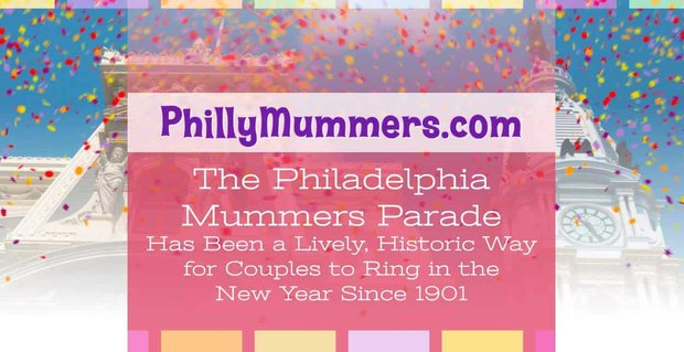 Philly Mummers Parade Where Couples Can Ring In New Year