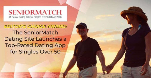 Senior Match Launches A Dating App