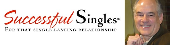 Collage of the Successful Singles logo and Ron Cater