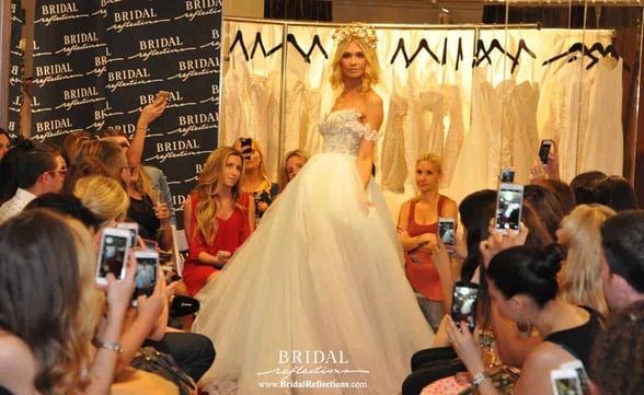 Photo of a Galia Lahav show at Bridal Reflections