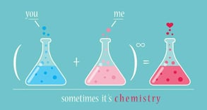 DNA Romance chemistry graphic