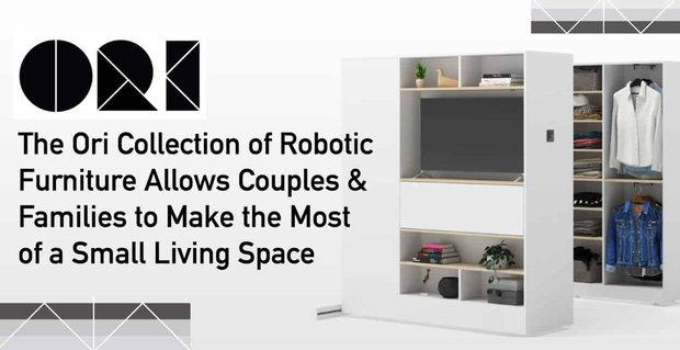 The Ori Collection of Robotic Furniture Allows Couples & Families to Make the Most of a Small Living Space