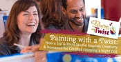 Painting with a Twist: How a Sip & Paint Studio Inspires Creativity & Romance for Couples Enjoying a Night Out