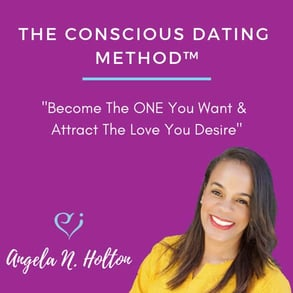 Screenshot of Angela N. Holton Conscious Dating class