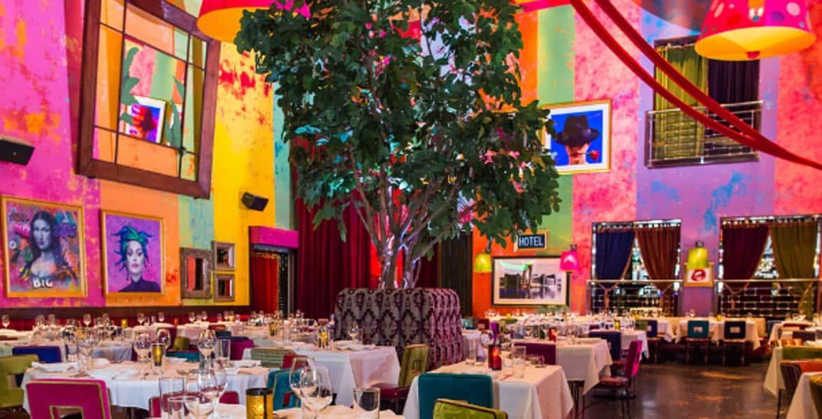 Photo of the Carnivale restaurant interior