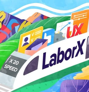 A LaborX graphic