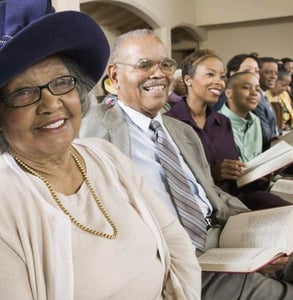 Photo of church members