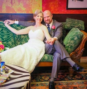 Photo of a wedding at Carnivale