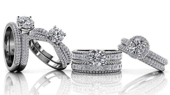 Photo of Anjolee diamond rings