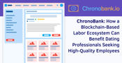 ChronoBank: How a Blockchain-Based Labor Ecosystem Can Benefit Dating Professionals Seeking High-Quality Employees