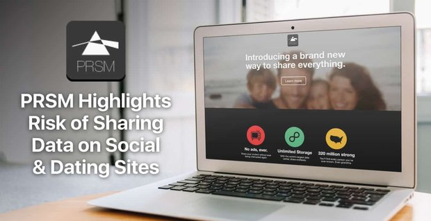 Prsm Highlights Risk Of Sharing Data On Social And Dating Sites