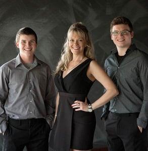 Photo of the Sacia family