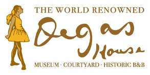 The Degas House logo