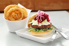 Photo of the Oaxaca burger
