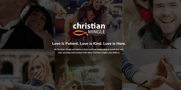 Screenshot of ChristianMingle