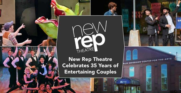 New Repertory Theatre Celebrates 35 Years Of Entertaining Couples