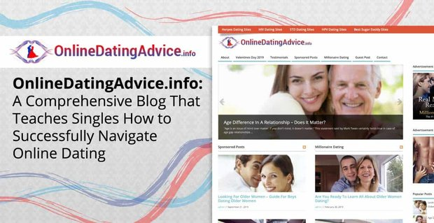 OnlineDatingAdvice.info: A Comprehensive Blog That Teaches Singles How to Successfully Navigate Online Dating