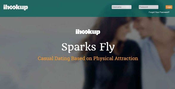 Screenshot of iHookup