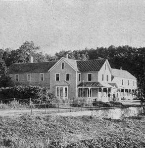 Photo of Lutsen Resort in the 1880s