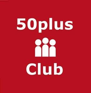 The 50plus-Club logo