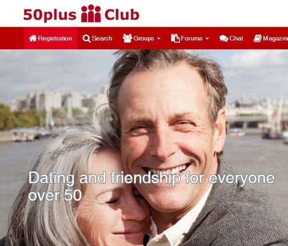 Screenshot of 50plus-Club