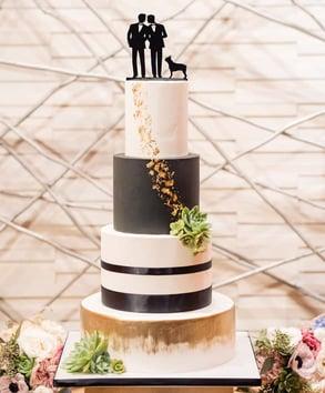 Photo of Sweet Cheeks Baking Company wedding cake