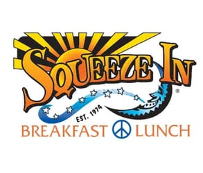 The Squeeze In logo